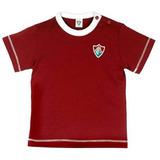 Camiseta Cores Clube Meia Malha Menino Fluminense Reve Dor 3b890eefc8d62