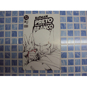 Batman - Preto E Branco N° 3 De 4 - Ótimo