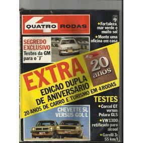 Revista Quatro Rodas Agosto 1980 Edição Extra