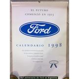 Almanaque Original Ford Año 1998 De Coleccion