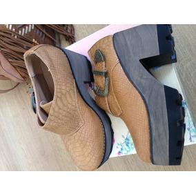 Zapatos Con Hebilla, Nuevos, Hermosos N 38 Y N39 Ecocuero