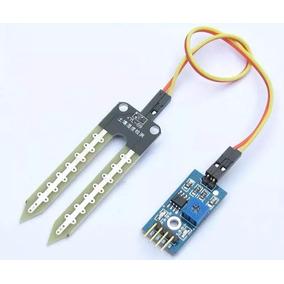 Sensor De Umidade Do Solo - Higrômetro Ideal Arduíno Pic