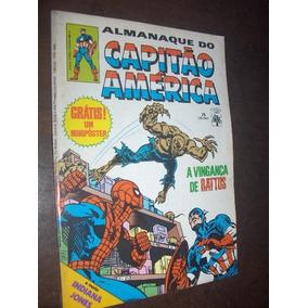 Almanaque Do Capitão America N 75 De 1985