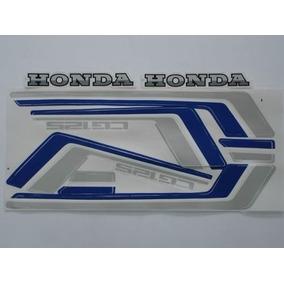 Jogo Adesivo Honda Cg 125 83 / 84 Vermelho - Frete R$9,90