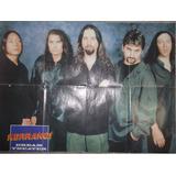 Mega Poster Calendario De Doble Cara Kerrang Dream Theater