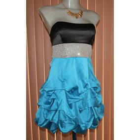 Mini Vestido De Fiesta Talla Chica