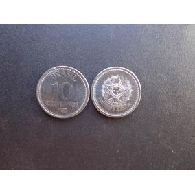 25 Moedas Brasil 10 Centavos Cruzado Ano 1986 Soberba
