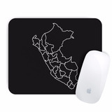 Mouse Pad Peru Delineado (d0596 Boleto Store)