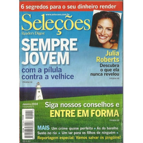 724 Rvt- 2004 Revista Seleções- Jan- Sempre Jovem Pílula Con