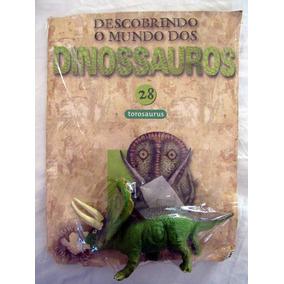 Miniatura Descobrindo O Mundo Dinossauros 28 Torosaurus