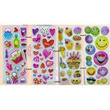 Kit De Stickers (cada Kit Contiene 12 Planillas) :)