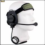 Fone Ouvido Headset Tatico Miitar Seals Airsoft Ztactical