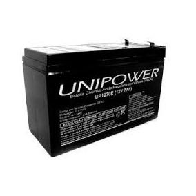 10 Baterias Unipower 12v 7a Frete Gratis
