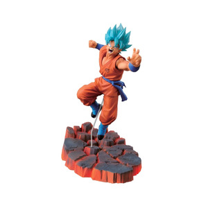 Action Figure Goku Azul Dragon Ball Boneco Frete Gratis