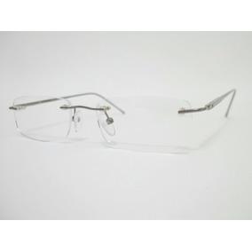d978d924849dd Armação Alumínio Para Óculos De Grau Cor Grafite Mola Hastes ...