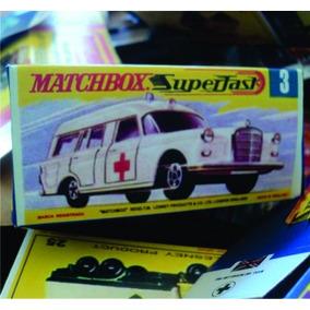 Matchbox Reprobroxes Tipo G 1970-71 Todos Los Modelos
