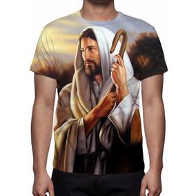 Camiseta, Jesus O Bom Pastor - Estampa Total