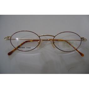 35c6632a4f6cf Armação Oculos Aço Inox De Sol Chanel - Óculos no Mercado Livre Brasil