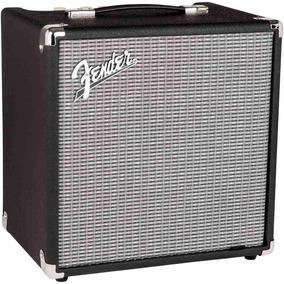 Amplificador De Bajo Fender Rumble 25 V3 25w Parlante De 8