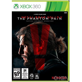Jogo Midia Fisica Novo Metal Gear The Phantom Pain Xbox 360