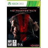Jogo Midia Fisica Novo Metal Gear The Phantom Pain Xbox 360