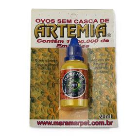 Ovos De Artemia Sem Casca 20ml - Otimo Para Alimentação