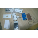 Permuto Leer Apple Iphone 4s 16gb Blanco Impecable Caja