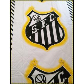 Colcha De Casal Do Santos Futebol Clube - Casa 3aeb4e0360582
