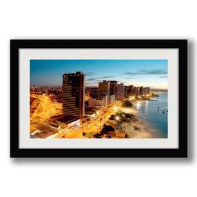 Quadro Fortaleza Ceara 65x45cm Cidades Arte Decoracao Sala
