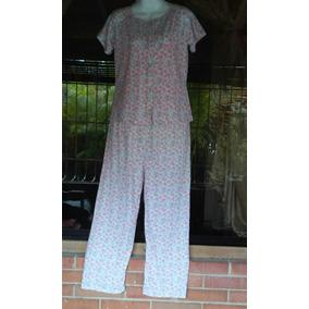 Pijamas Abiertas De Botones Pantalon Para Damas Preciosas