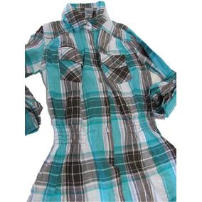 e69ff1fa250ae Camisas Entalladas Mujer - Ropa y Accesorios Verde claro en Mercado ...