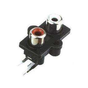 Conector Rca Femea Duplo P/módulos E Caixas Amplificada