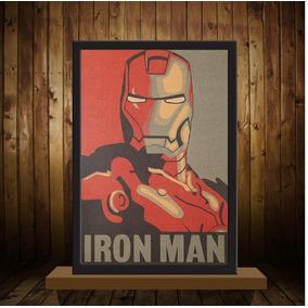 Poster (quadro) Iron Man - Homem De Ferro