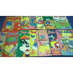 Lote Gibis O Pato Donald - Vários A 7,00 Cada