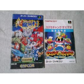 Manual Jogo Nintendo Famicon Cosmo Gang - Chohmakimura