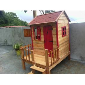 Casa Niñas Juguete Madera Jardines