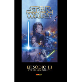 Kit Livros Star Wars Episódio Iii, Iv E V