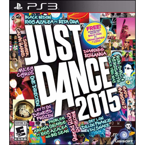 Jogo Just Dance 2015 Ps3 Mídia Física Danca Lacrado Nf