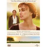 Dvd Orgulho De Preconceito, Keira Knightley, Judi Dench +