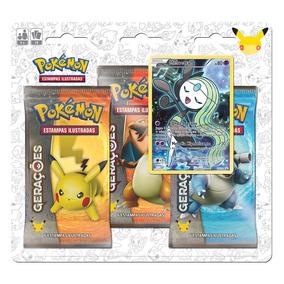 Pokemon Blister Triple Pack Gerações Meloetta Copag