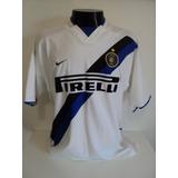 ec42a7229e Camisa Internazionale Away 02-03 Vieri 32 Duplo Tecido Imp