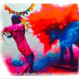 Holi Color Polvo 50grs - Promo X250 Bolsitas La Golosineria