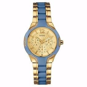 Relogio Guess Azul Feminino - Relógios De Pulso no Mercado Livre Brasil 85e6213756