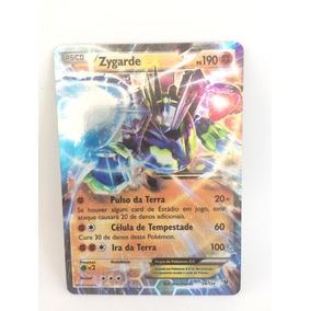 Pokemon Zygarde Ex - Fusao De Destinos Xy10