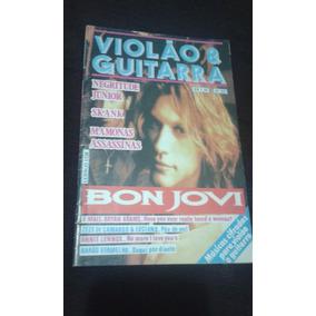 Revista Violao E Guitarra Musicas Cifradas Bon Jovi Mamonas