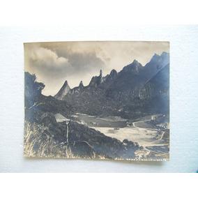 Antiga Foto Tipo Postal - Dedo De Deus - Teresópolis - Rj