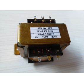 Transformador Trafo 15v + 15v / 2 Amperes - Bivolt