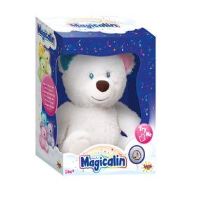 Oso Magicalin Velador Con Luz Y Sonido Original Bebés