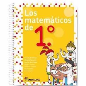 Los Matemáticos De 1 - Santillana