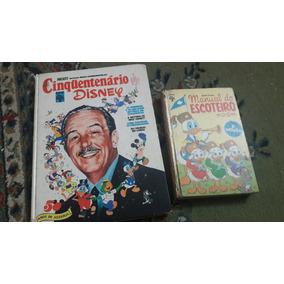 Cinquentenário Disney E Manual Do Escoteiro Antigos
